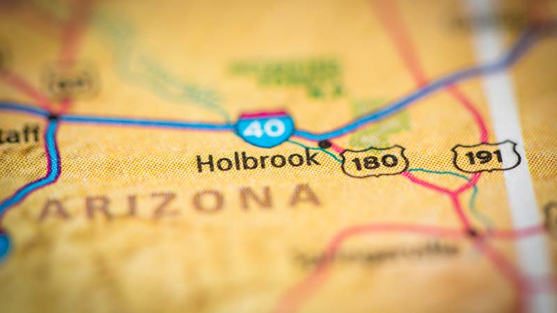 Holbrook Arizona Car Accident