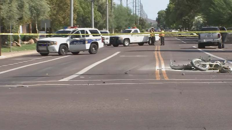 Celso Salinas-Mireles Killed by Red Light Runner Phoenix AZ