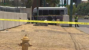 Phoenix Motorcycle Accident with Bus