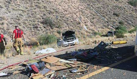 Multi-Vehicle Accident Black Canyon City AZ