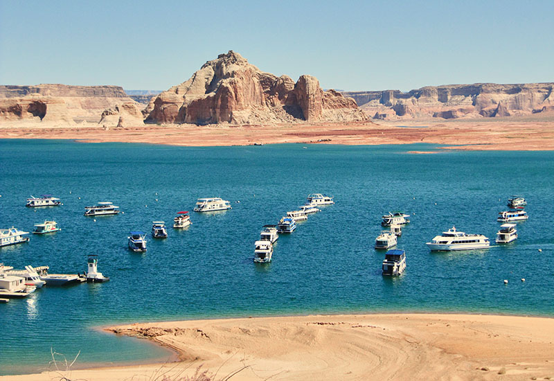 Houseboat Explosion Lake Powell AZ