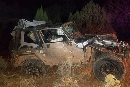 Kingman Arizona Rollover Accident