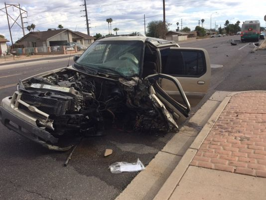 Cortland McKinney Mesa AZ Scottsdale Car Accident