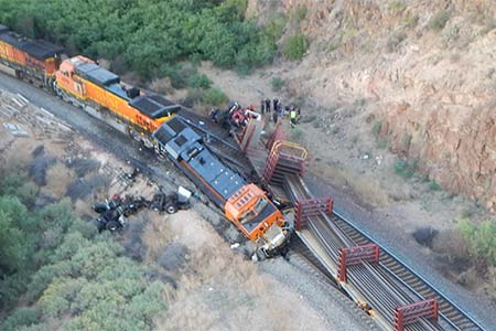 Walter Erickson Train Crash Northern Arizona