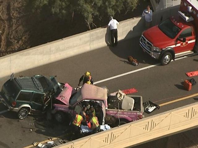 Wrong-Way Crash on I-10 Kills Two, Critically Injures Two