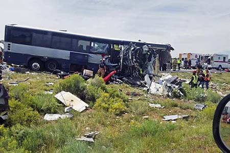 New Mexico Truck Accident