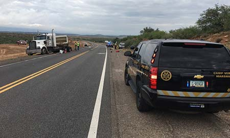 Rockwell Lee Truck Accident Camp Verde AZ