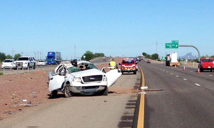 Arizona Car Crash Today Report