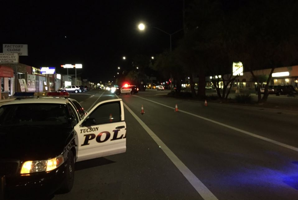 Tucson Car Accident Irvington